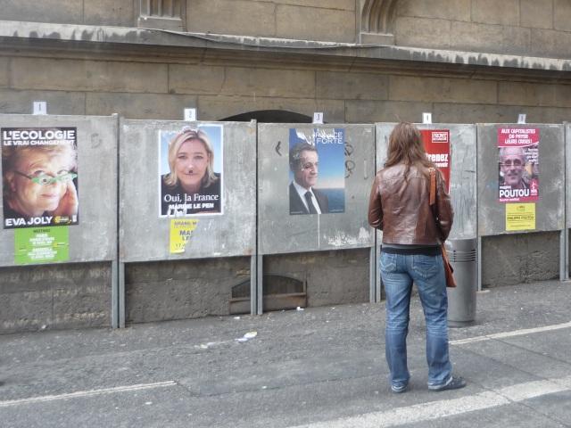 Présidentielle : Mélenchon élu à Lyon pour son affiche de campagne