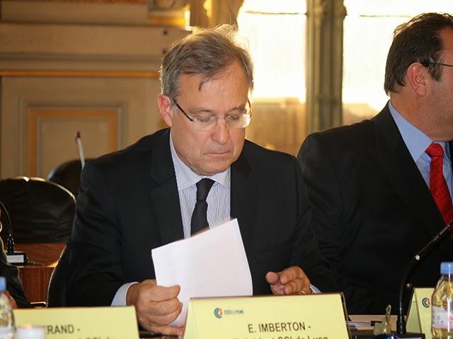 Emmanuel Imberton retrouve son poste de président de la CCI de Lyon