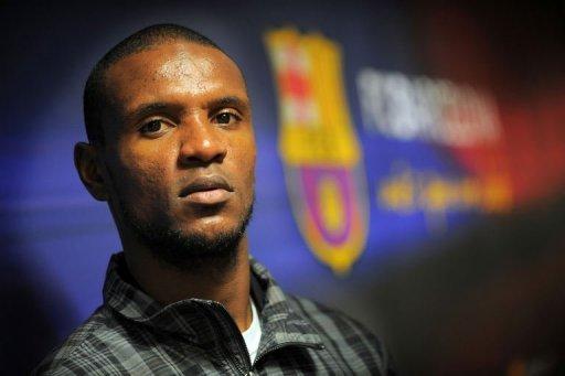Eric Abidal de retour chez les pros au Barça