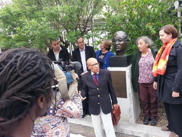 Près de 50 personnes pour commémorer l'abolition de l'esclavage à Lyon
