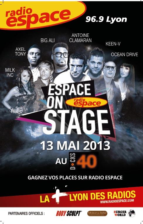 LyonMag vous fait gagner vos places pour la nouvelle édition de l'Espace On Stage