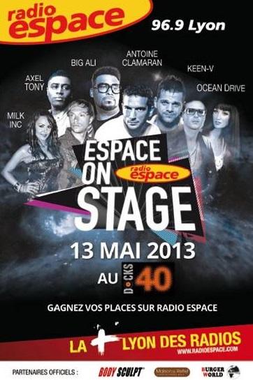 Radio Espace présente ce lundi la seconde édition de l'Espace on Stage