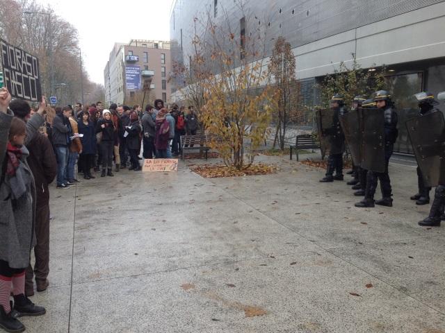 Lyon : les étudiants en colère réservent un comité d'accueil à Geneviève Fioraso