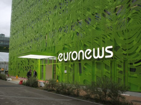 Le siège d'Euronews à Lyon - Lyonmag.com
