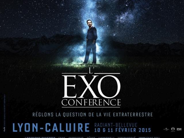 """Alexandre Astier reviendra au Radiant en 2015 présenter son """"Exoconférence"""""""