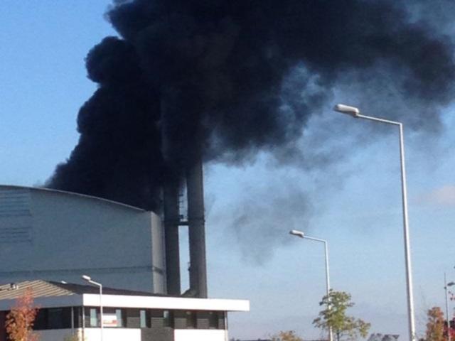 Incendie de l'incinérateur de Rillieux : pas de hausse de la pollution, des examens encore en cours
