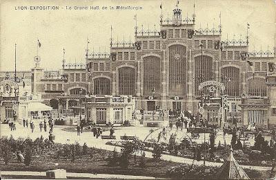 L'Exposition universelle à Lyon en 1914 - DR