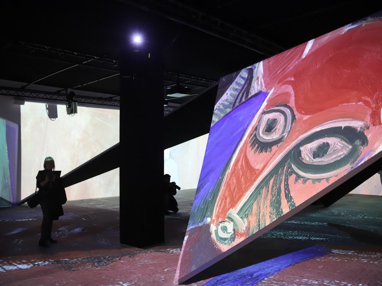 """Imagine Picasso à Lyon : """"une expo-spectacle accessible sur le peintre espagnol"""""""