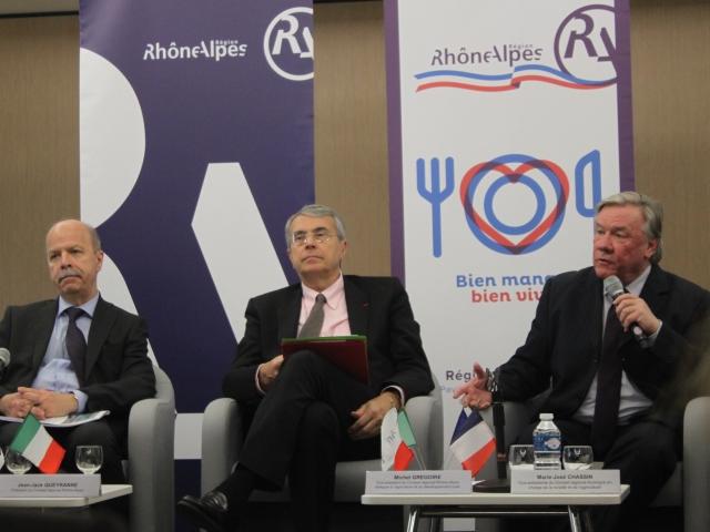 L'exposition universelle de Milan au menu de la Région Rhône-Alpes