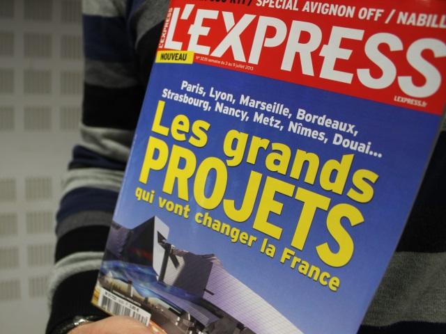 """L'Express : Ces trois projets lyonnais qui vont """"changer la France"""""""
