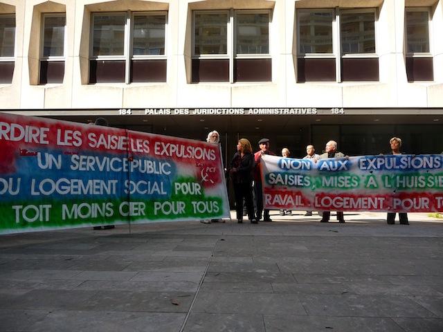 Arrêtés anti-expulsion : la décision du tribunal administratif mise en délibéré