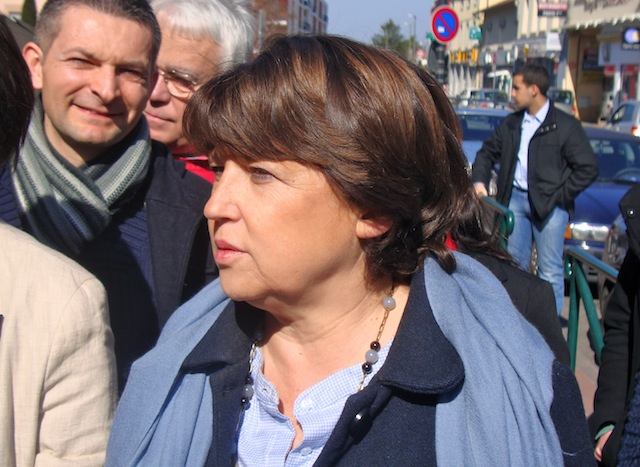 Oui, des élus socialistes soutiennent Martine Aubry dans le Rhône !
