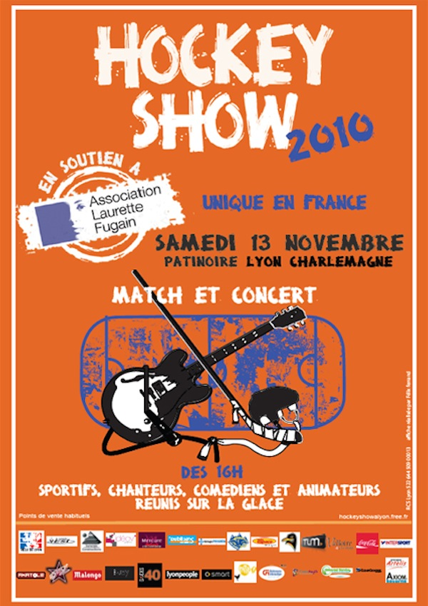 Le Hockety Show investit la patinoire Charlemagne