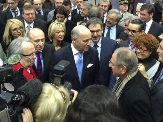 Lyon : Laurent Fabius inaugure le SIRHA 2015