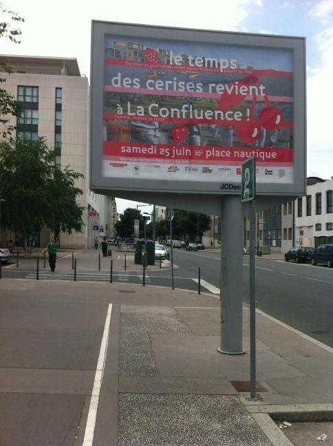 Date erronée sur des affiches de la ville de Lyon