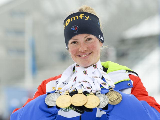 Biathlon : Marie Dorin-Habert se reprend et accroche le podium