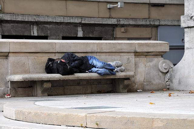 Hiver : On dort encore dehors à Lyon