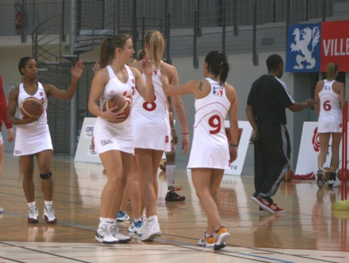 Le Lyon Basket Féminin s'impose face au champion de France