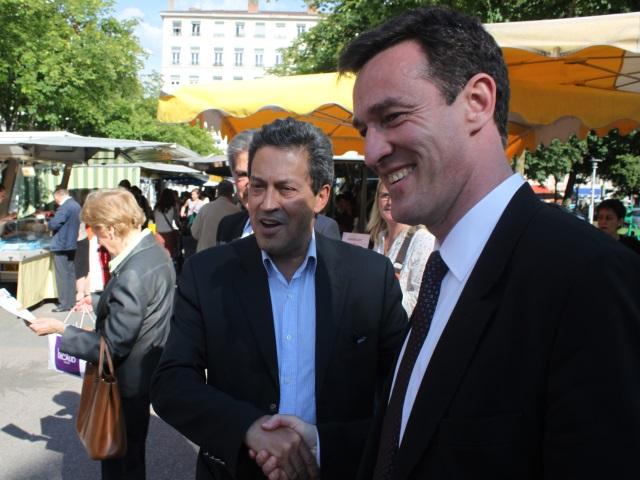 La poignée de main gaillarde entre Fenech et Havard - LyonMag