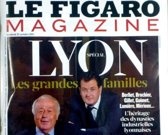 """Les grandes familles lyonnaises dans """"Le Figaro Magazine"""""""