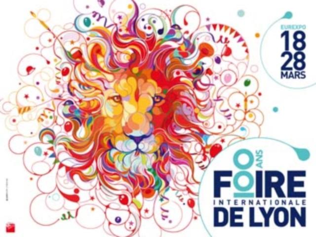 Un lion d'anniversaire et un logo spécial : la Foire de Lyon fête ses 100 ans