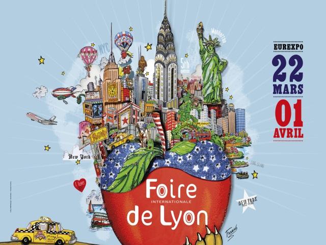 Times Square, Little Italy, Andy Warhol : welcome à la Foire de Lyon 2013