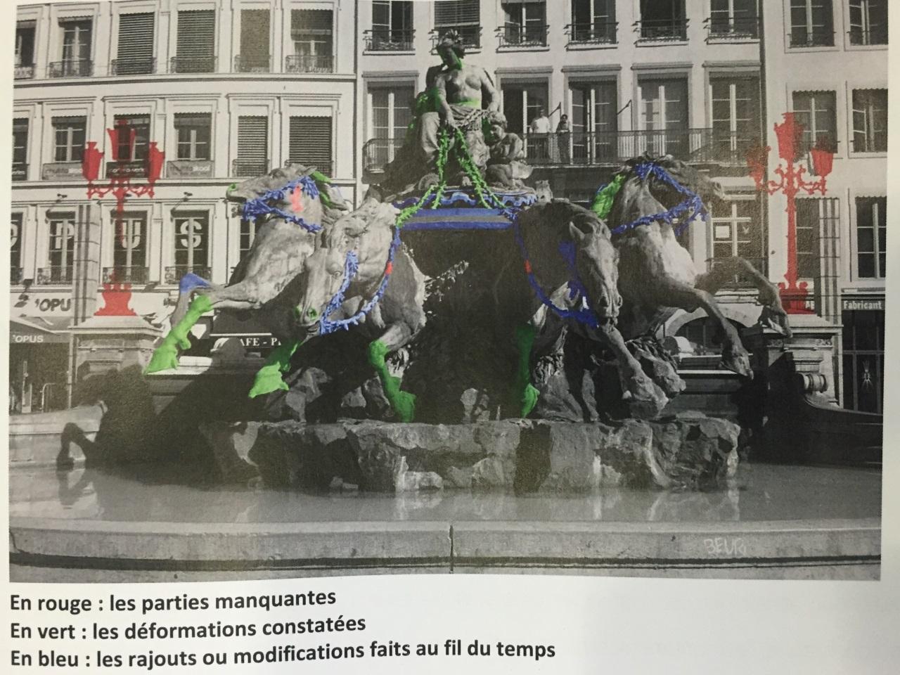 Les travaux prévus pour la fontaine de la place des Terreaux - LyonMag