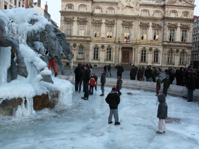 """Le plan """"Grand froid"""" déclenché dans le Rhône"""