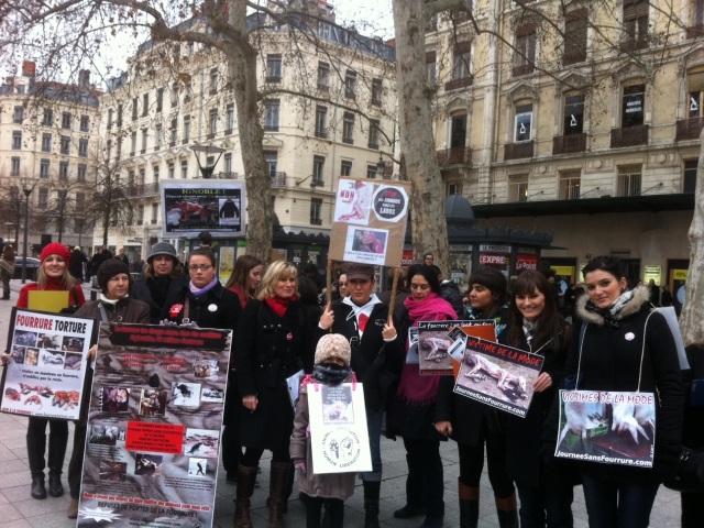 Journée Sans Fourrure samedi à Lyon