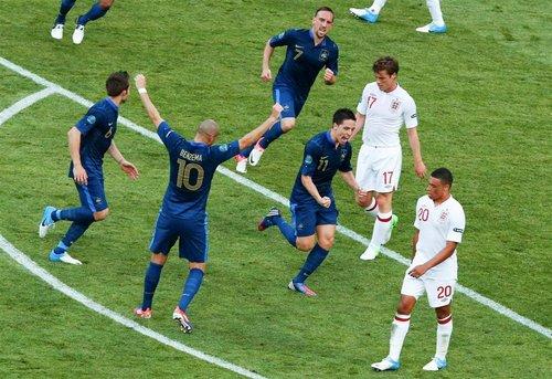 Euro 2012 : France - Angleterre, un partout