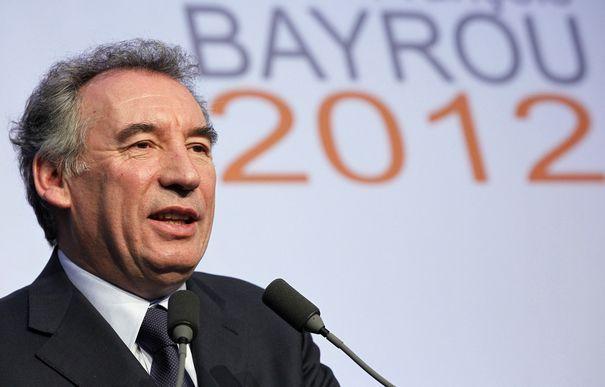 François Bayrou à Lyon - Eurexpo le 16 avril
