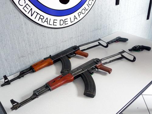 Des armes de guerre interceptées ce vendredi dans le Rhône