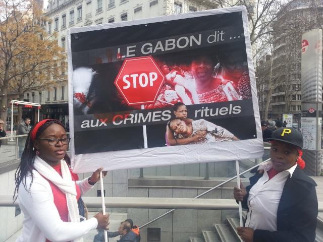 Lyon : une marche samedi contre les crimes rituels au Gabon
