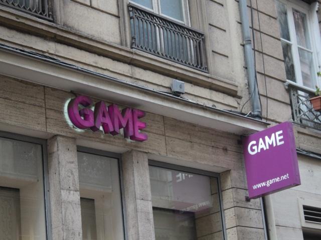 Game : deux magasins repris  à Lyon