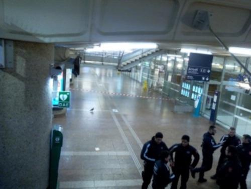 Les démineurs interviennent à la gare de la Part-Dieu pour un colis suspect