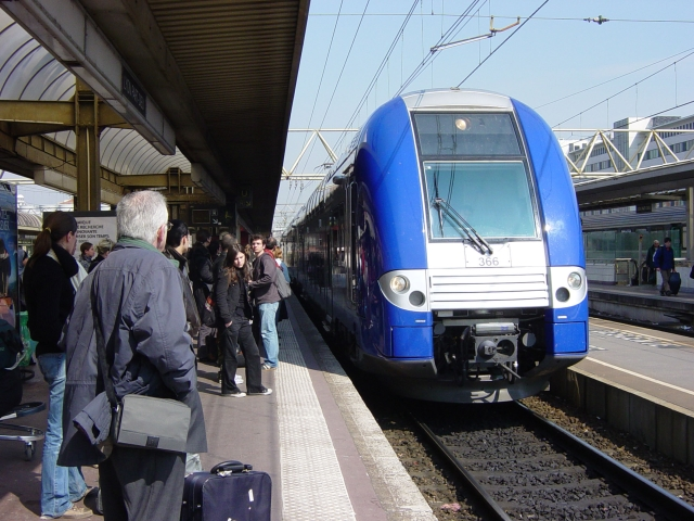 Guillaume Pépy (SNCF) en déplacement à la gare de la Part-Dieu