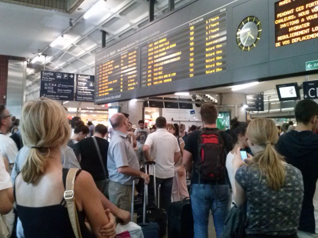 Le trafic SNCF restera perturbé vendredi matin en Rhône-Alpes