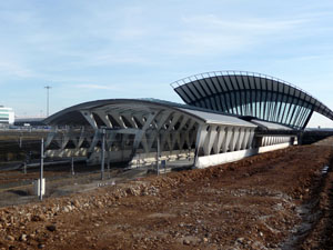 Lyon : une alerte à la bombe à la gare de Saint-Exupéry