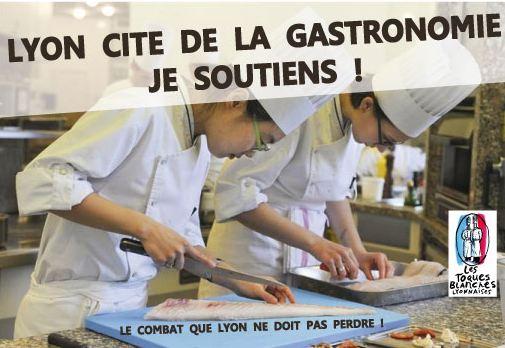Aucun élu de la majorité au rassemblement pour la Cité de la Gastronomie à Lyon