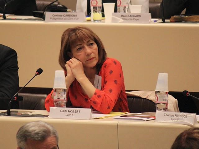 Gilda Hobert signataire de la lettre des parlementaires pour la reconnaissance de la Palestine