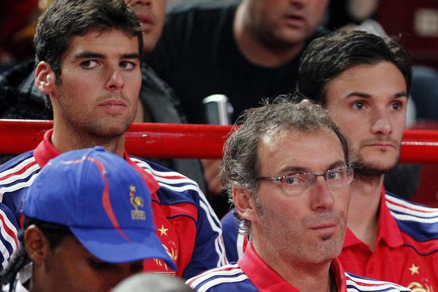 Yoann Gourcuff, Laurent Blanc et Hugo Lloris - DR