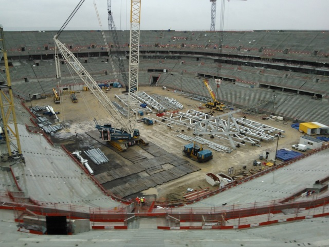 Le Grand Stade de l'OL inauguré le 8 décembre 2015 ?