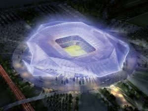Grand Stade de l'OL : le permis de construire sera signé début février !