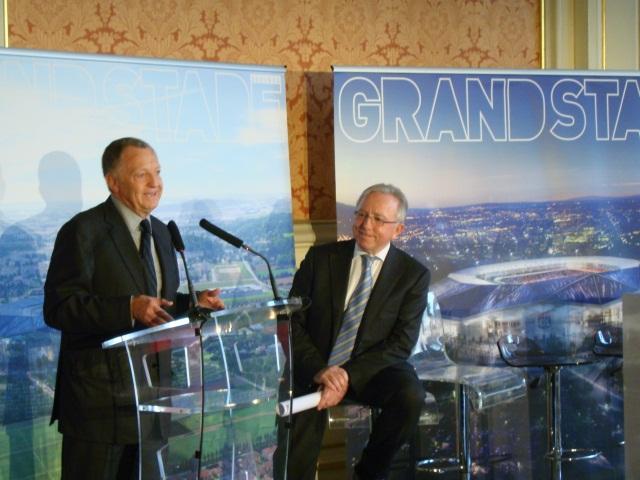 Grand Stade de l'OL : le co-président de Pathé prend le contrôle de la Foncière du Montout