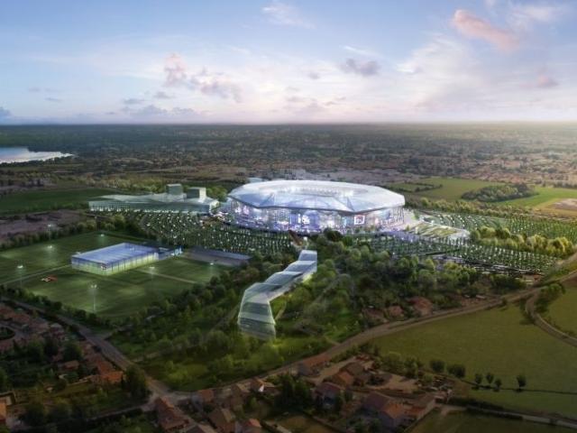 Le Stade des Lumières à Décines - Photo Olympique Lyonnais