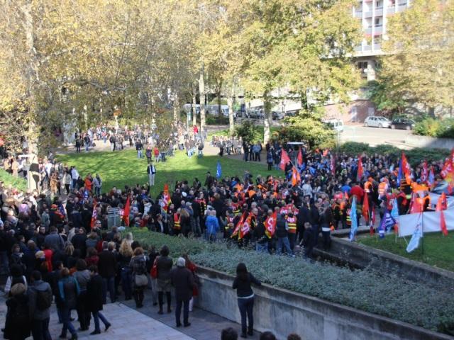 Métropole de Lyon : 800 agents manifestent, le Grand Lyon réagit