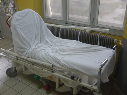 Manifestation des psychologues de l'hôpital Saint-Jean-de-Dieu ce mardi