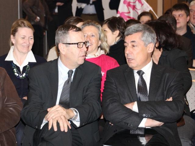 Patrick Louis et Henri Guaino ont pris la parole jeudi - LyonMag