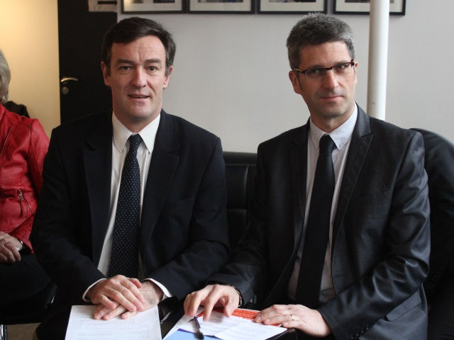 Michel Havard et Christophe Geourjon - LyonMag