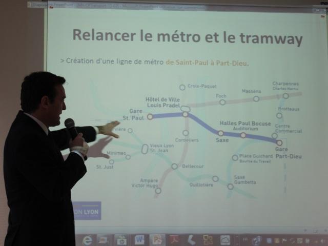 Municipales à Lyon : Michel Havard veut son métro, quitte à ne pas l'inaugurer lui-même